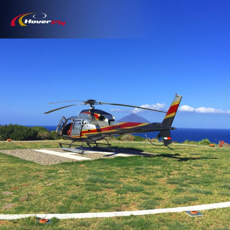 Helicopter charter in Italy