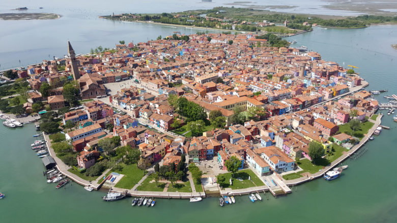 Helicopter tour in Venice Italy