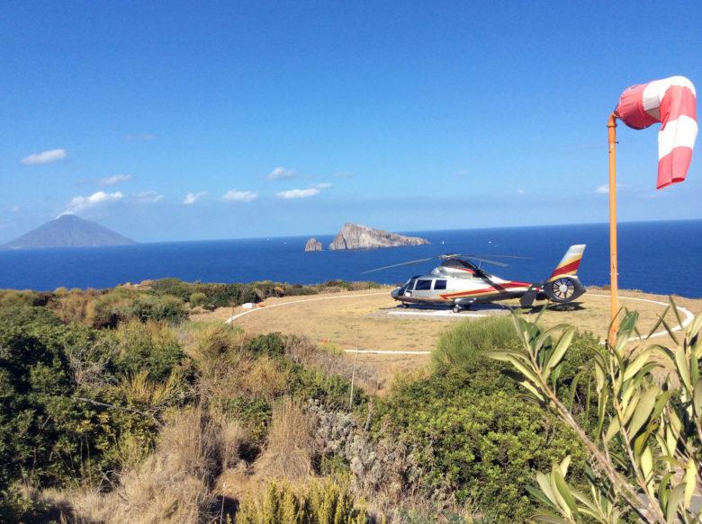 L'unicità dei colori dei paesaggi italiani nell'unicità del comfort degli elicotteri Hoverfly.