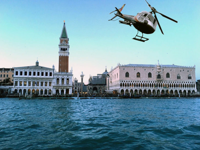 Helicopter Tour Venice Italy,