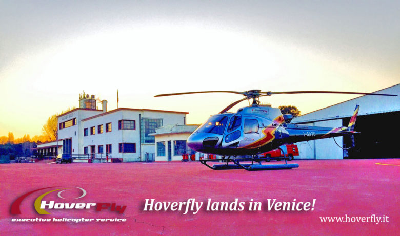 Helicopter charter flights, Helitaxi in Venice